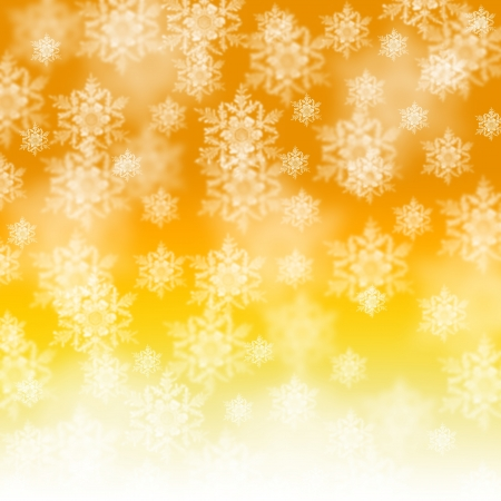 Elegant Christmas background with snowflakes and place for text photo