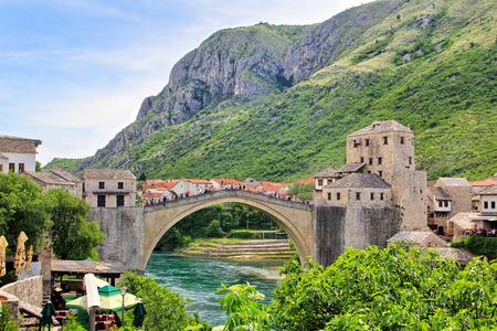 The Old Bridge Stari Most, Mostar, Bosnia and Herzegovina