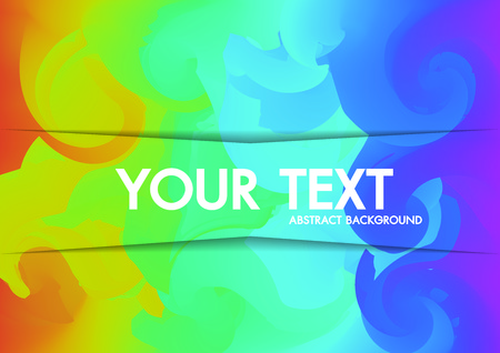 Abstract Background Holographic neon  copy-space for text.