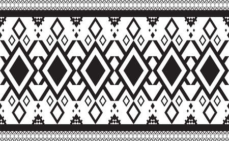Abstract geometric pattern seamless black and white vector.Repeating geometric background.Modern design trendy concept for paper, cover, fabric, interior decor and other users.