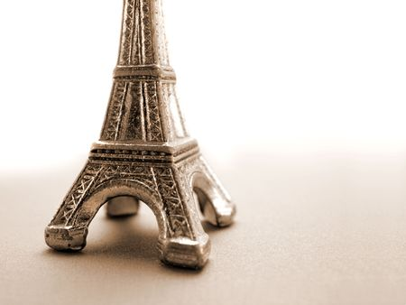 Eiffel Tower Model photo
