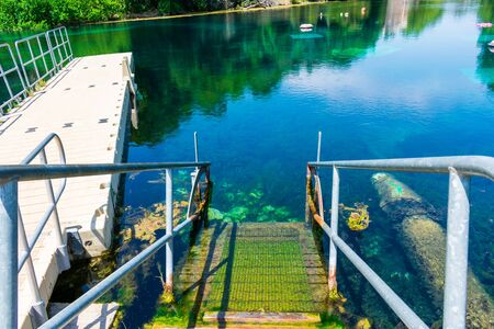 San Marcos Texas Aquarena Springs Dock
