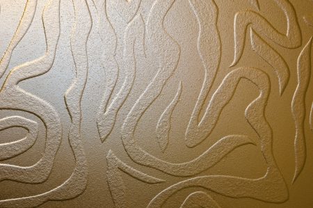 section - glass, decorative sandblasting.
