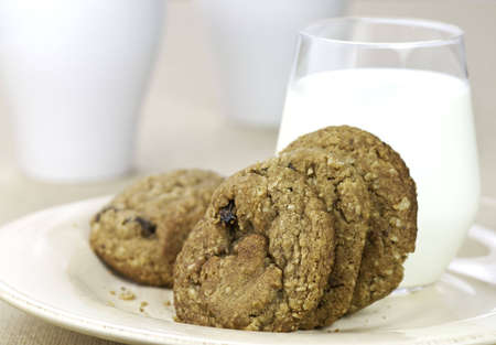 Milk and coookies photo