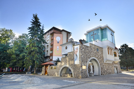 Mother Teresa: Mother Teresa Memorial House in Skopje, The Mother Teresa Memorial House is dedicated to the humanitarian and Nobel Peace Prize laureate Mother Teresa and is located in her hometown Skopje, in the Republic of Macedonia