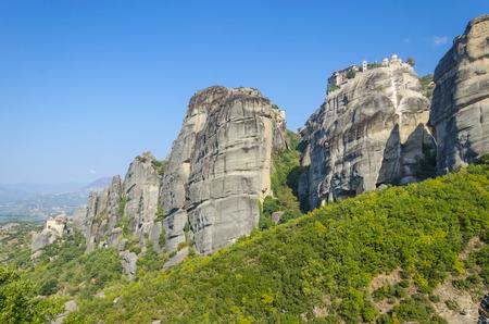 kalampaka: Meteora mountain rocks,Greece.