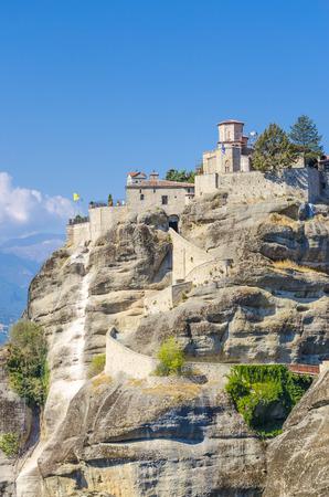 meteora: meteora monastery (Greece).