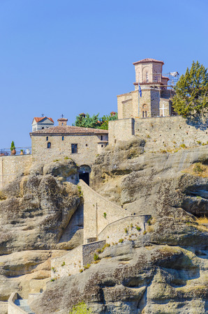 The Holy Monastery of Rousanou  St. Barbara (founded in the middle of 16th century AD) Meteora, Greece photo