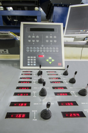 offset:  offset roto printing machine registration control unit