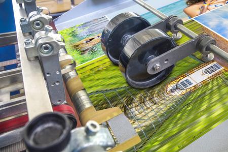 인쇄 기계 스톡 콘텐츠