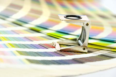 pallette: Conception graphique, impression, concept publicitaire Banque d'images