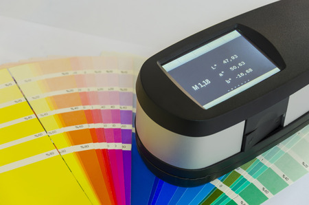 spectrophotometer: Spectrophotometer, Exact Print Measuring Tool