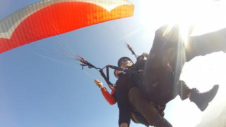 parapente: Parapente juego de turismo guiado por un piloto