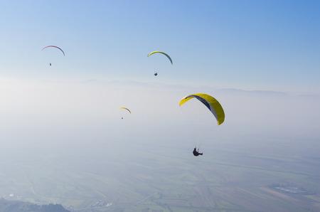 adrenaline: extreme adrenaline sport parachute paragliding