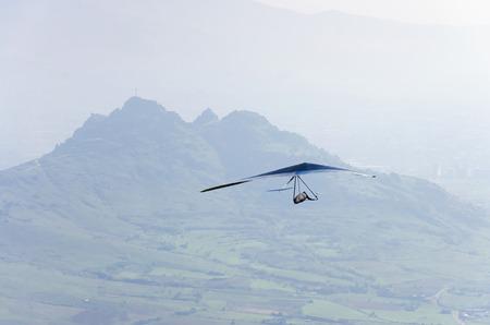 adrenaline: silhouette glider do extreme sport adrenaline activity