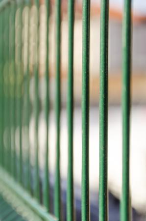lockup: Jail fence metal bars