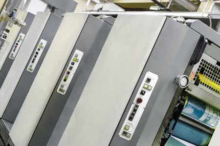 Large Print Offset machine