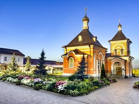 Church in honour of the Transfiguration in Optina Monastery, Russia