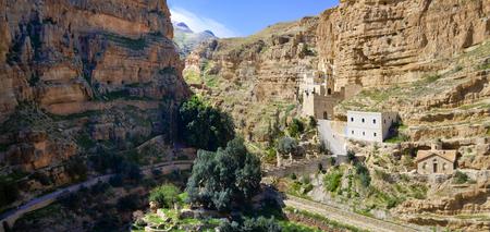 Panoramic view of Saint George Monastery, Jerusalem, Israel