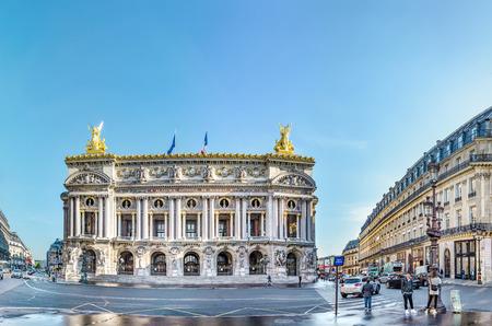 Paris, France - circa May, 2017: Facade of The Opera or Palace Garnier. 写真素材