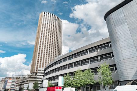 Skyscraper hotel located near Porte Maillot