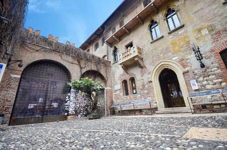 Julias balcony architecture verona history house italy shakespeare