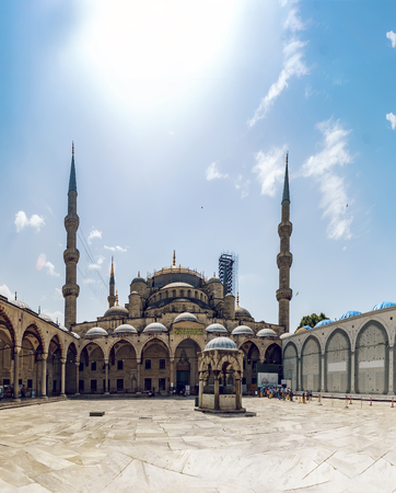 The magnificent Blue Mosque of Istanbul