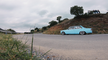 Kocani, Macedonia - 24 Jun, 2018: Hill climb care race car on track