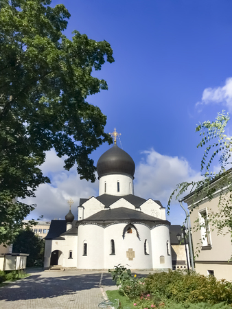 Marfo-Mariinsky Convent of Mercy in Bolshaya Ordynka, stauropegic convent of the Russian Orthodox Church, founded in 1909, the object of cultural heritage