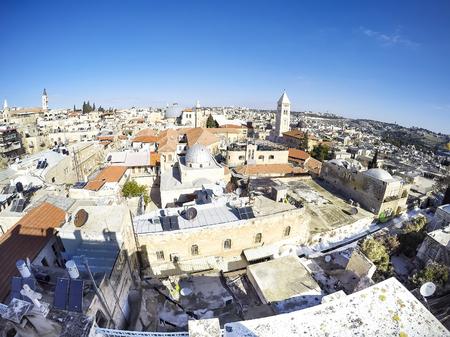 Skyline of Jerusalem Israel skyline at day Фото со стока - 120638822