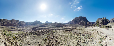 Jordan Petra desert panorama Фото со стока - 120638833