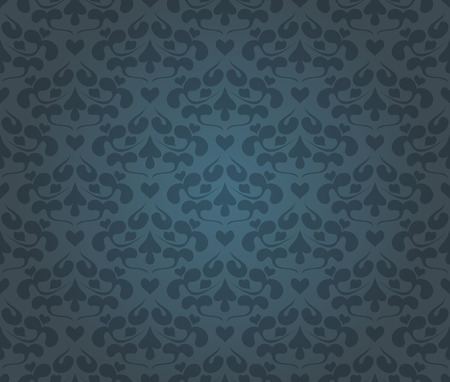 vector eps10: Vintage floral background pattern, vector Eps10 illustration. Illustration