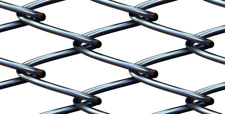 ベクトル ワイヤー フェンスのシームレス背景