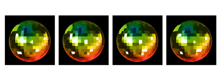 mirrorball: Animation of Disco Mirror Ball