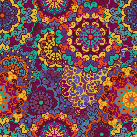 ottoman fabric: Seamless pattern. Vintage decorative elements. drawn background. Islam, Arabic, Indian, ottoman motifs. Perfect for printing on fabric or paper.