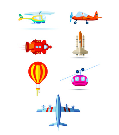 jetliner: Different modes of air transportation