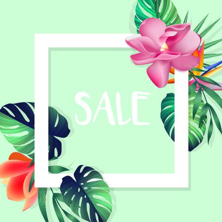 Design banner with sale logo. 向量圖像