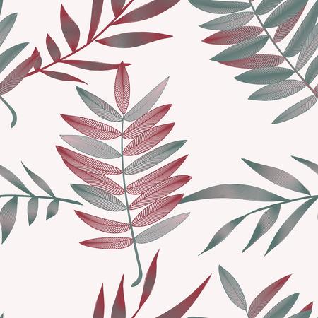 熱帯の花、ジャングルの葉、極楽鳥花。 写真素材 - 76689532