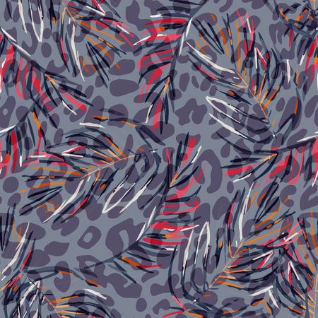 Tropisch patroon. Stock Illustratie