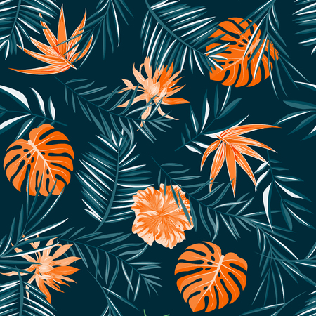 Tropical pattern.