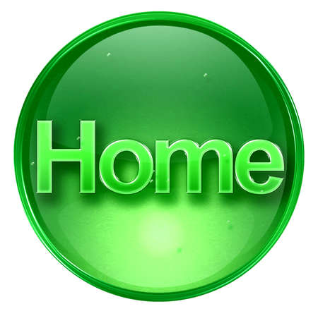 home icon. With Clipping Path Stock Photo - 963083
