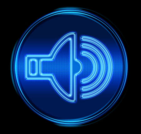 Musik-Symbol. (Mit Clipping-Pfad)