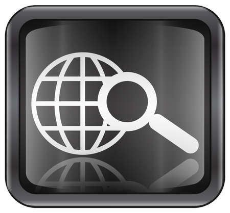 searchengine: search and magnifier icon