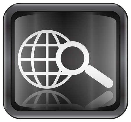Such-und Lupen-Icon