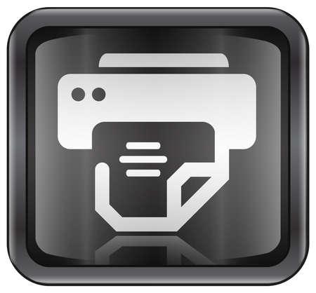 printer icon Stock Photo