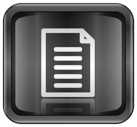 contacting: Document icon Stock Photo