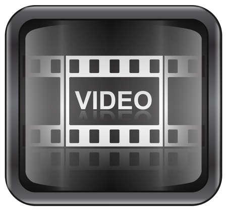 rec: Film icona  Archivio Fotografico