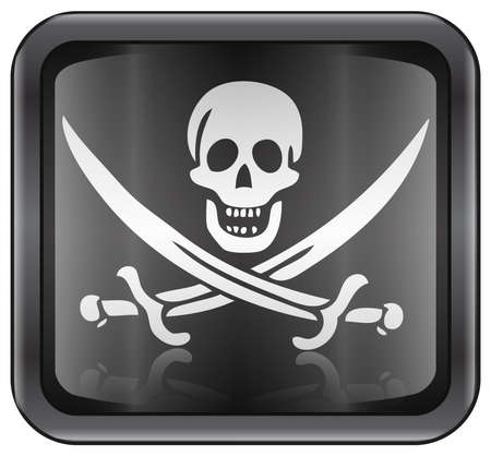 Pirate icon Stock Photo