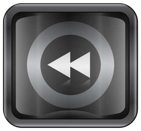 rewind: Rewind icon Stock Photo