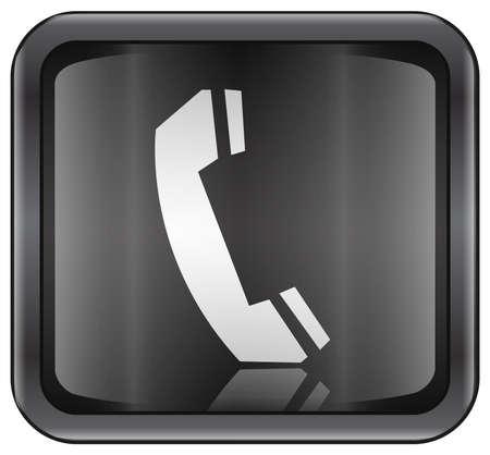 Telefon-Symbol  Standard-Bild